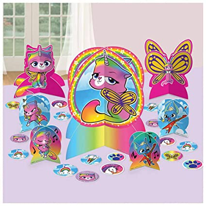 Amazon.com: Kit de decoración de mesa de unicornio de ...