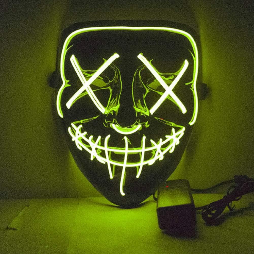 SUNFFFW Máscara De Halloween Led Máscaras De Purga Elección ...