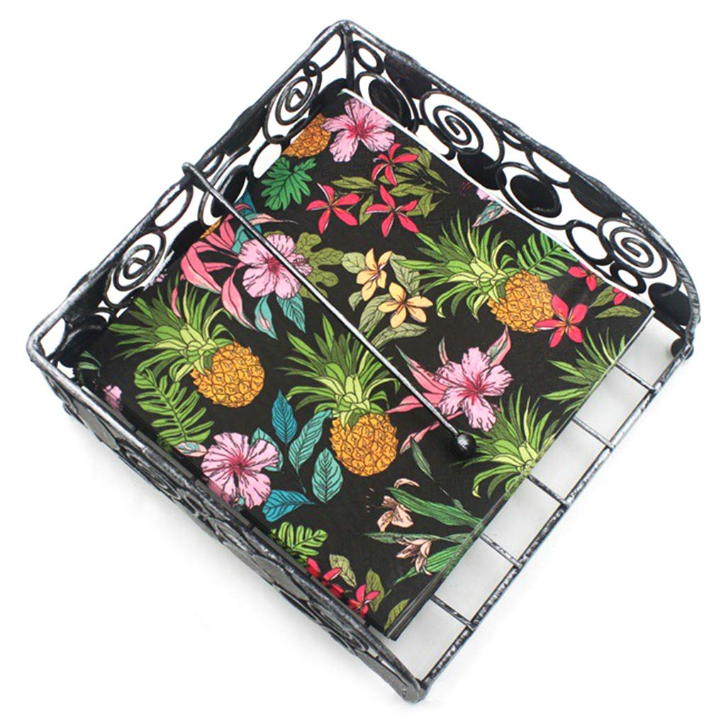 GuanjunLI multicolor 20 unidades dise/ño de pi/ña Servilletas de papel decorativas