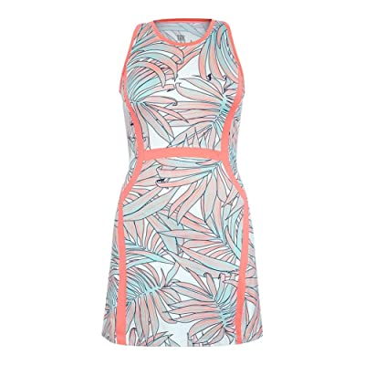 Tail Women`s Jenna Tennis Dress Palms Tahiti-(TC2425-D313U17)
