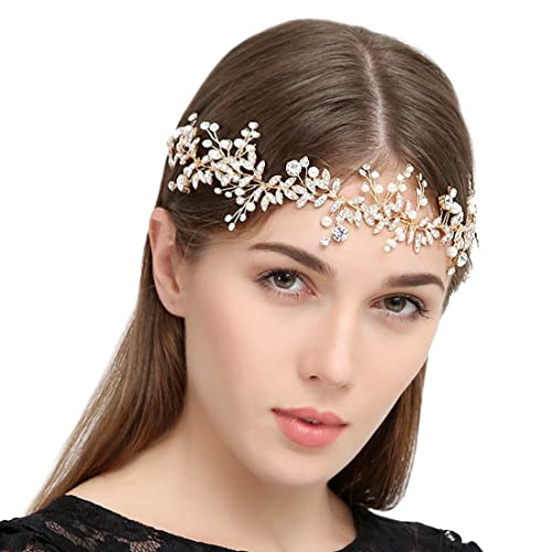 Handmade Crystal Rhinestones Wedding Head Band Bridal Hair Accessories Headpieces