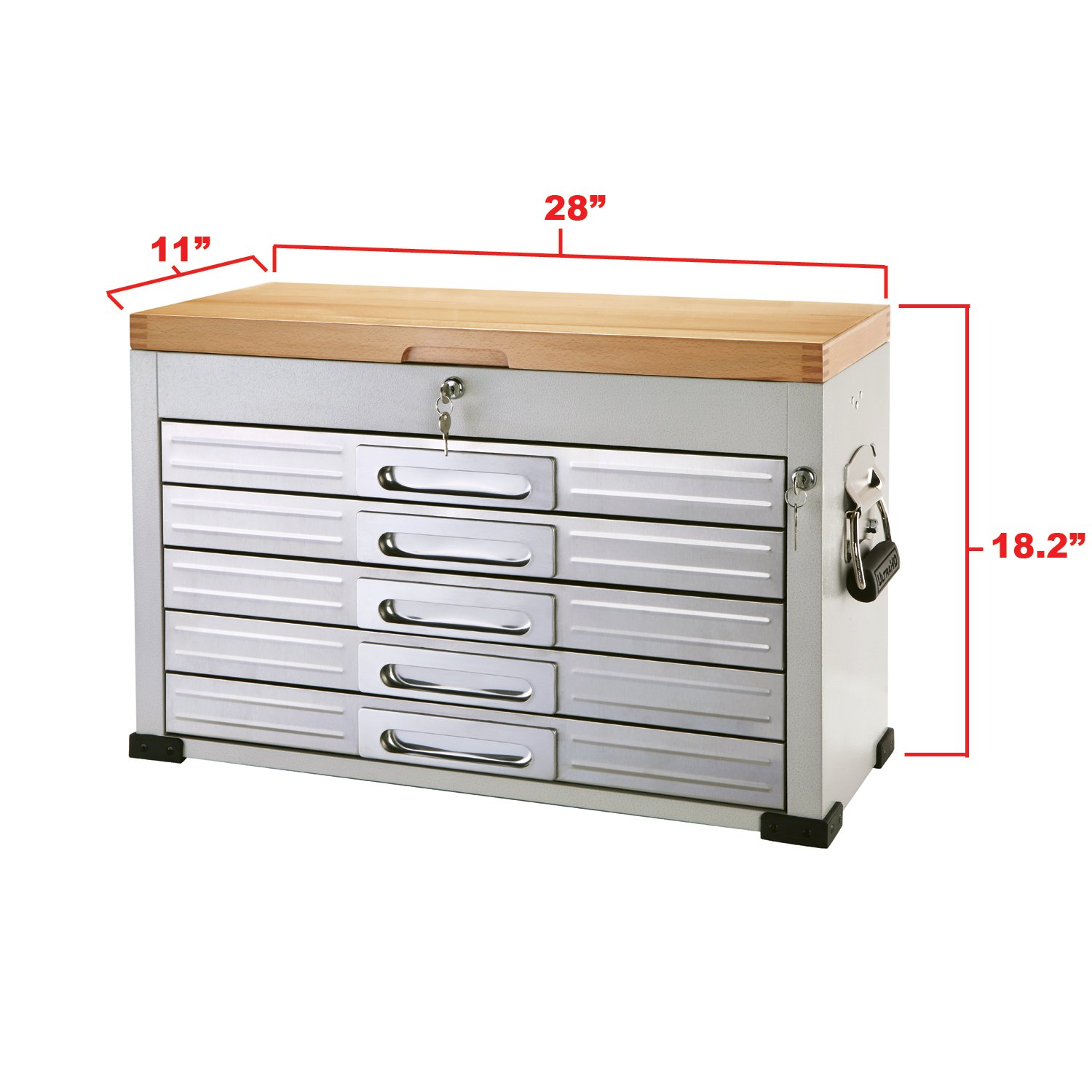 drawers home improvement rolling com classics amazon seville inch drawer dp ultrahd chest tool workbench