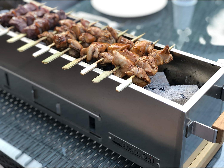 Binchotan 24 GR610S Robata Yakitori Kushiyaki Charcoal Grill Japanese Style