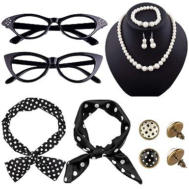 Amazon.com: TUPARKA - Juego de 12 accesorios para disfraz de ...