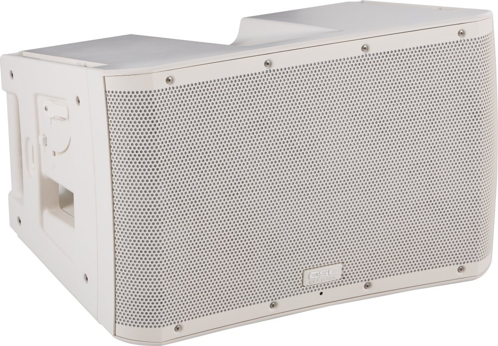 QSC KLA12 12'' 500-Watt 2-Way Powered Active Line Array Loudspeaker, White by QSC