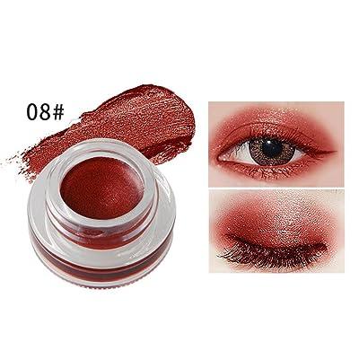HP95 Fashion Mini Eyeliner Gel Cream Waterproof Eyeliner Eye Shadow Gel Makeup Cosmetic (08#)