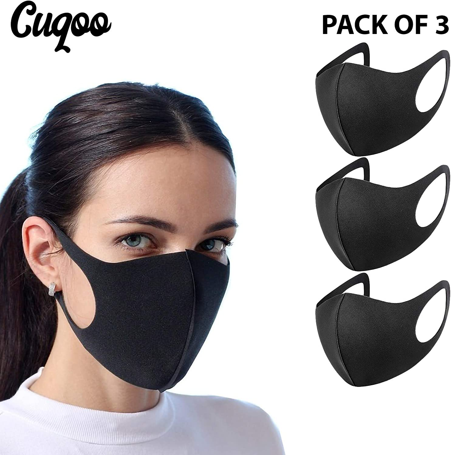Fashion Washable Anti-dust Mouth Cover Face Mask Respirator Cotton Breathable