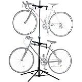サンワダイレクト 自転車スタンド 2台用 ディスプレイスタンド メンテナンス スタンド 高さ/角度調整可能 800-BYST3