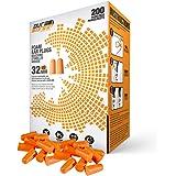 1-200 Pairs Ear Plugs & Ear Muffs Genuine 3M 1100 Disposable Ear Plug Foam Noise Reducer