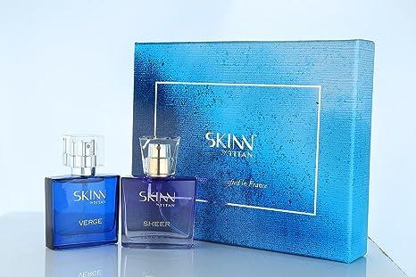3d62d347a4ddd Buy Titan Skinn Verge and Sheer Gift Set for Men and Women