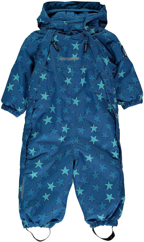 Name it Kinder Schneeoverall blau mit Sternen Storm mini