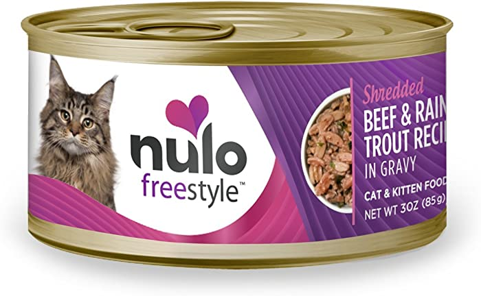 Nulo Adult & Kitten Grain Free Canned Wet Cat Food