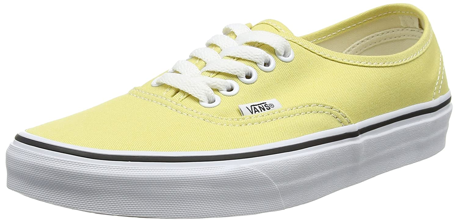 Vans Unisex-Erwachsene Authentic Sneaker  38.5 EU|Gelb (Dusky Citron/True White)
