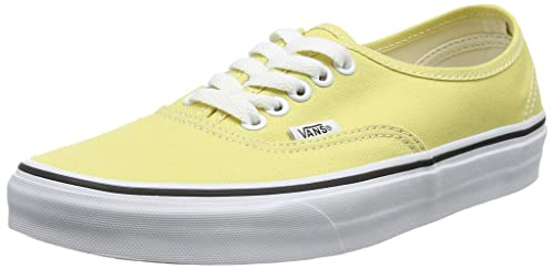 49e09a60f98e77 Vans Authentic Mens Yellow Canvas Lace up Sneakers Shoes  Amazon.ca  Shoes    Handbags