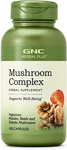 GNC Herbal Plus Mushroom Complex