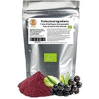 Bayas de aronia ECO en polvo liofilizada - 200 g. Sin azúcar - Sin aditivos. Aronia: el acai europeo. Fibra alimentaria…