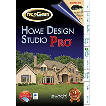 Amazon.com: Punch! Home & Landscape Design Studio Pro for Mac v2 ...