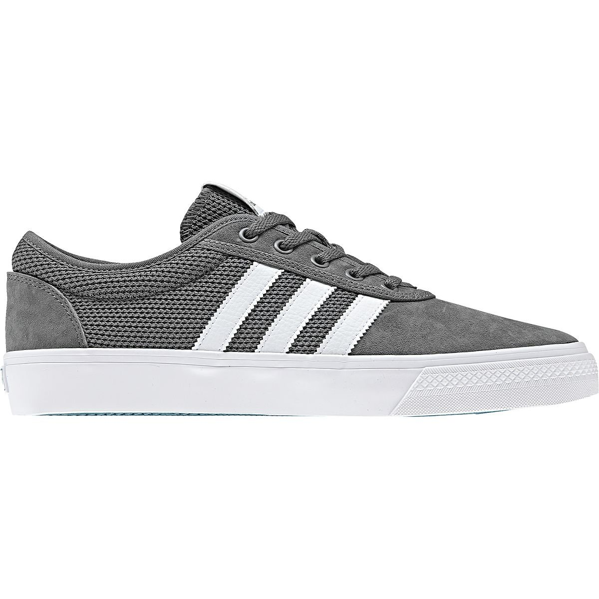 adidas Skateboarding Unisex Adi-Ease Grey 4/Footwear White/Real Teal 12 M US