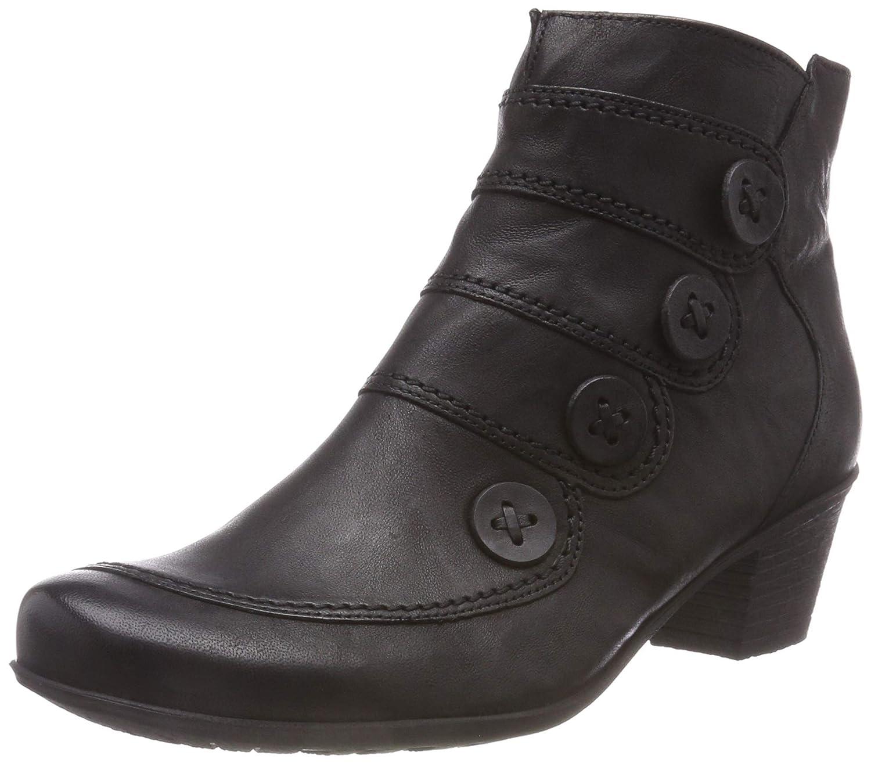 negro (negro 57) Gabor zapatos Gabor Casual, Botines para mujer