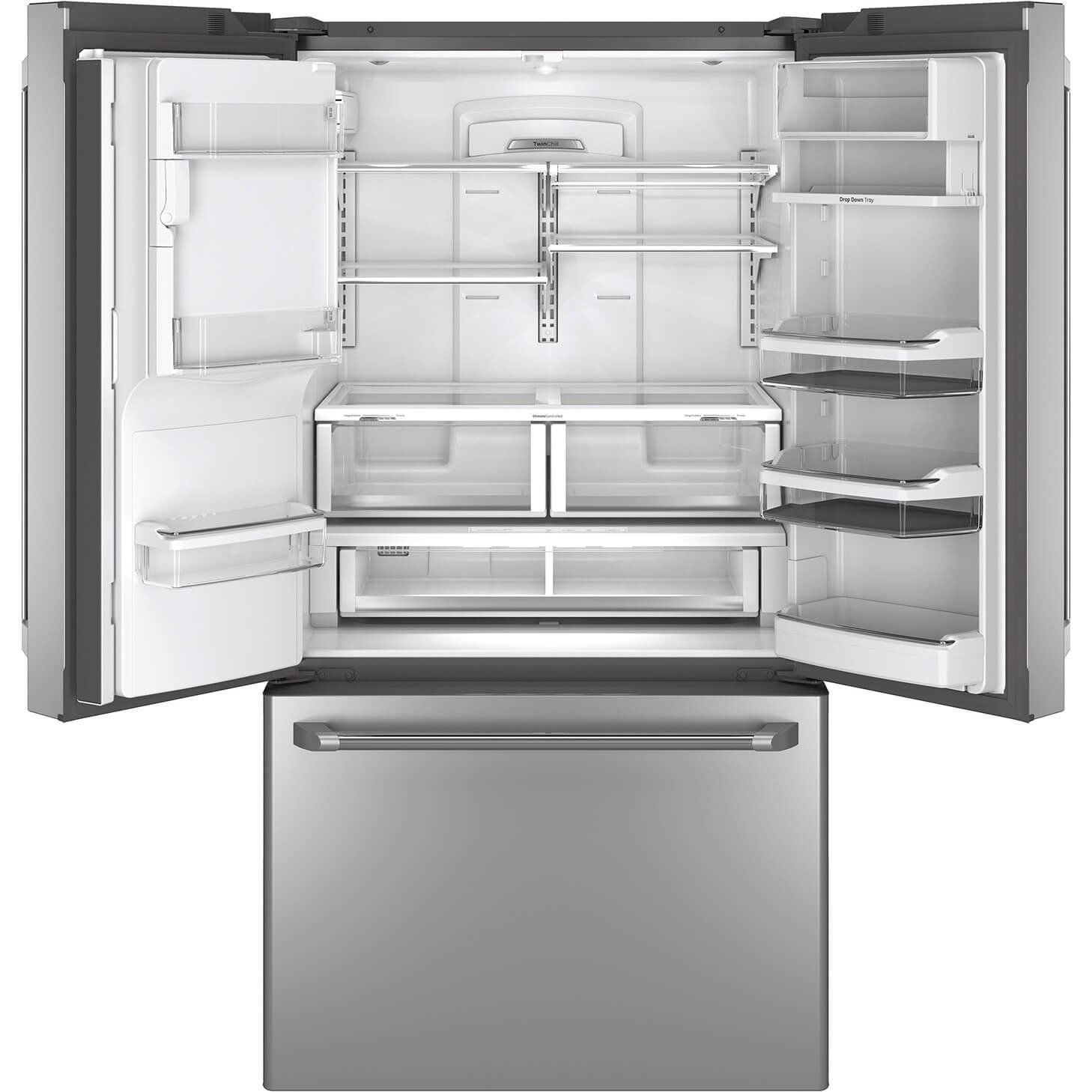Amazon ge cafe cfe28tshss 36 278 cu ft capacity energy amazon ge cafe cfe28tshss 36 278 cu ft capacity energy star french door refrigerator with hot water dispenser in stainless steel appliances rubansaba