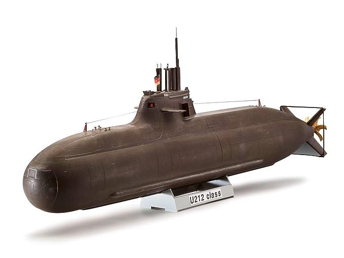 Revell - Maqueta Nuevo Submarino alemán U212 A Class, Escala 1:144 (05019)