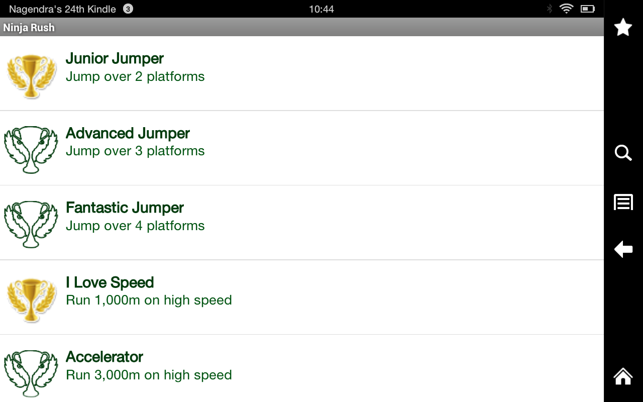 Ninja Rush: Amazon.es: Appstore para Android