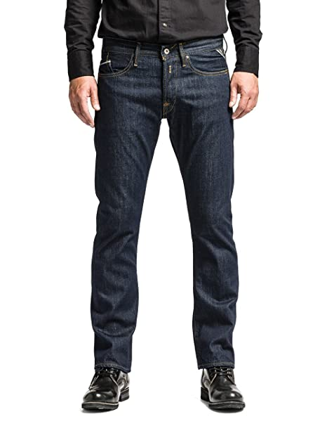a349f39f496 Replay Waitom U Slim Men s Jeans  Amazon.co.uk  Clothing