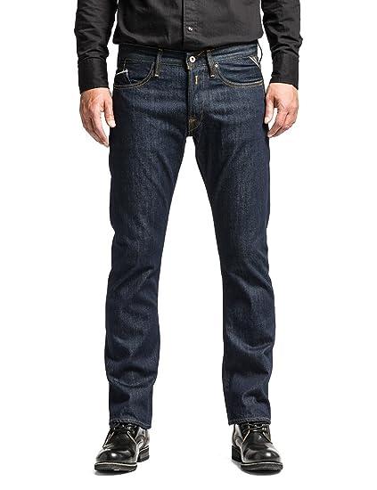 5a82a8ad Replay Waitom U Slim Men's Jeans Dark Rinse W32INxL32IN