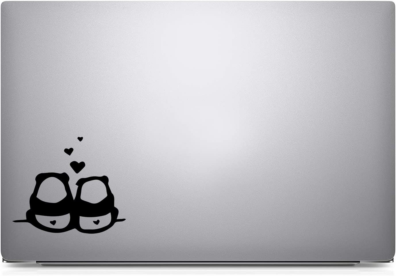 Bargain Max Decals Two Pandas in Love Decal Sticker