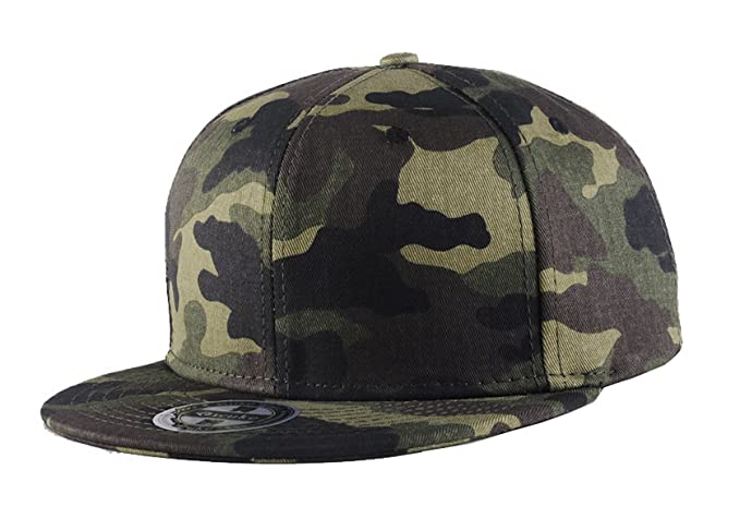 TESOON Men s Camo Snapback Hat Adjustable Hip-Hop Cap at Amazon ... 3839e09acc2