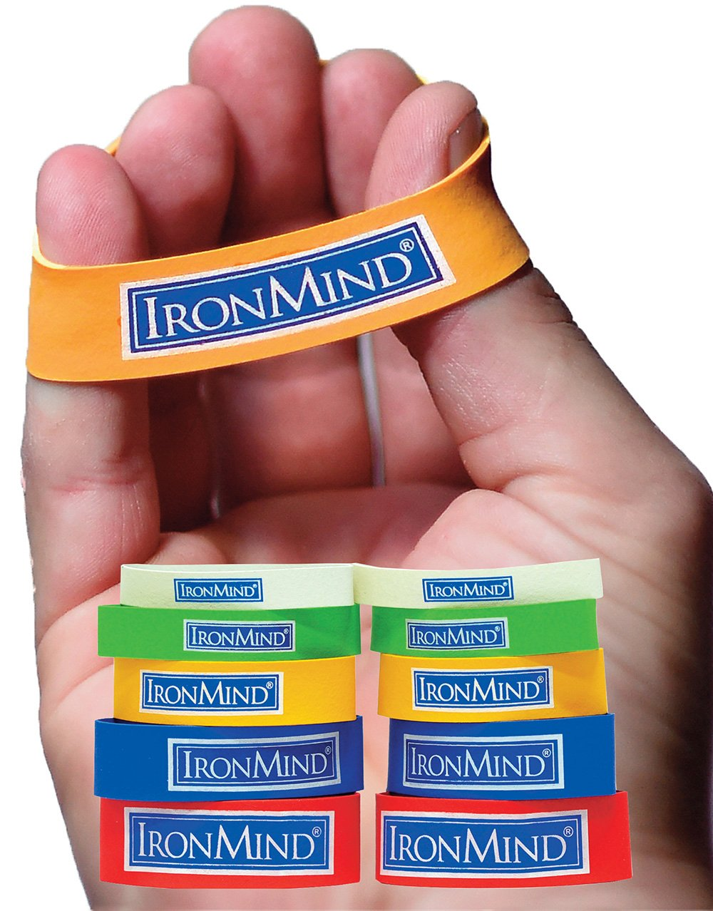 IronMind Expand-Your-Hand Bands: Original, Authentic, Effective by IronMind
