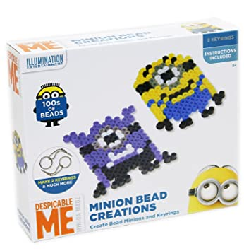 Moi Moche Et Méchant Minion Bead Creations Kit 100 Perles à