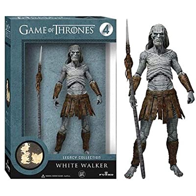 HBO 10016618 Game Of Thrones Legacy Collection White Walker Action Figure: Toys & Games [5Bkhe0400202]