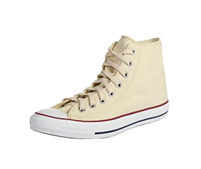 CONVERSE New Sneakers ALL STAR HI Unisex Shoes Unbleached White