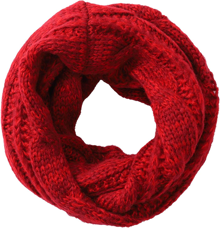 Knit Infinity Scarf Circle...