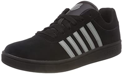 K-Swiss Men s Court Cheswick SDE Low-Top Slippers Black Neutral Gray 071 59d6ab98a