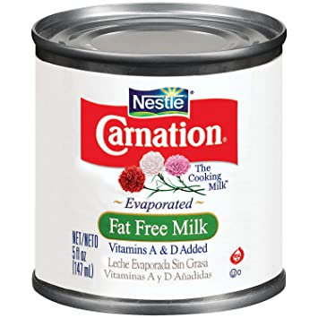 Carnation Fat Free Evaporated Milk, 5 oz