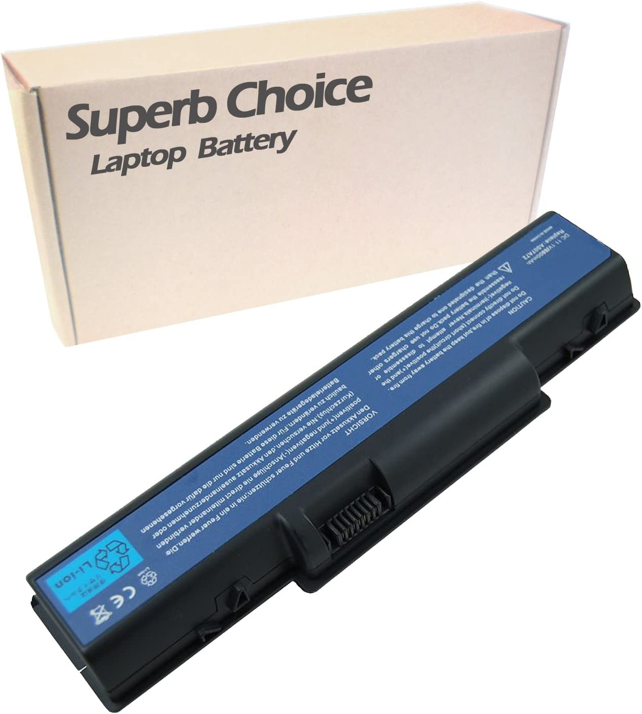 Superb Choice 12-Cell Battery Compatible with ACER Aspire MS2219 MS2220 MS2264 MS2265 MS2286 KBLG0 Z01 Z03 ZK6