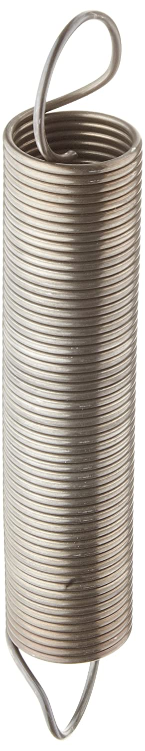 Pack of 10 Music Wire Extension Spring 2.5 lbs//in Spring Rate 12.29 Extended Length 1.125 OD 4.5 Free Length Steel 20.97 lbs Load Capacity Inch 0.085 Wire Size