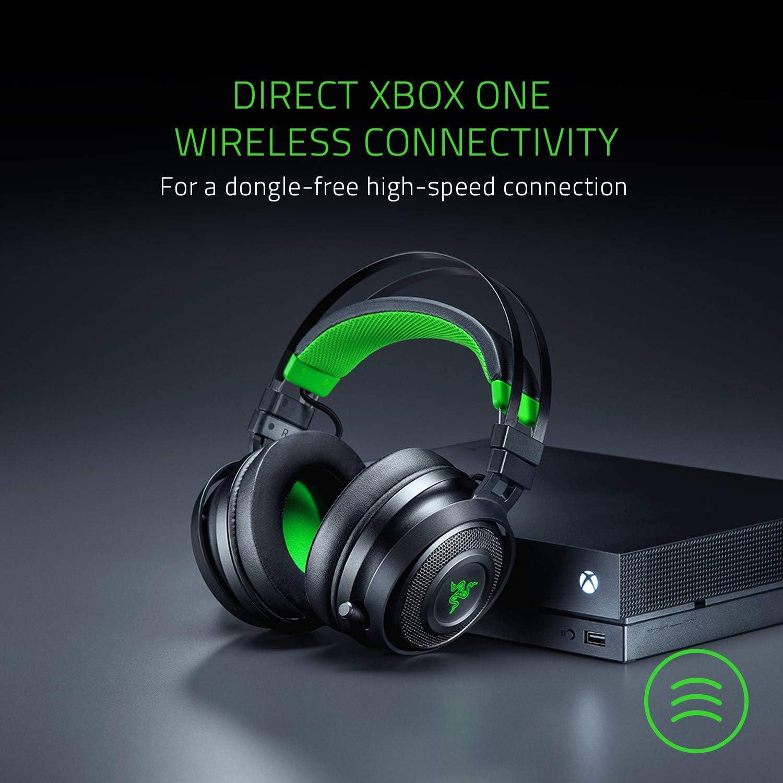 Razer Nari Ultimate - Auriculares inalámbricos para Xbox One con ...