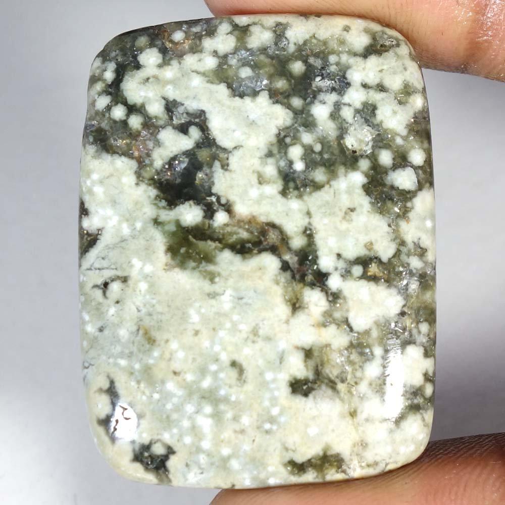 61.30Cts.100% Natural Ocean Jasper Cushion Cab Fine Quality Loose Gemstones