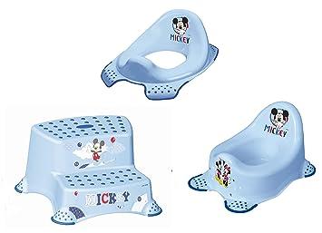 zweistufiger Tritthocker Toilettentrainer 2er Set Z Perl Premium Disney Winnie Puuh perl wei/ß Kinder-Toilettensitz