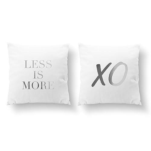 Amazon SET Of 40 Pillows Less Is More Pillow XO Pillow Mesmerizing Decorative Pillows For Less