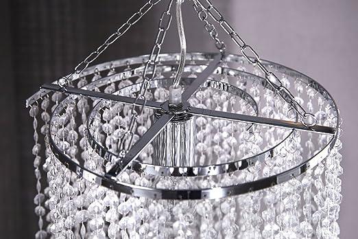 Kronleuchter Deckenlampe Lampe Kristall Strass Hängelampe Designer Lüster Led ~ Design xl hängelampe kronleuchter big strass 180cm e27 kristall