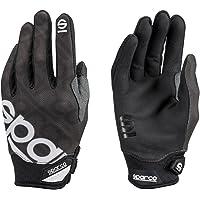 Sparco Meca 3 S002093NR4XL Handschoenen, zwart, maat XL