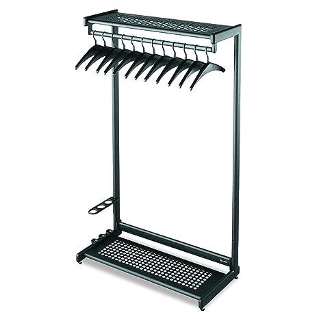 Amazon.com: Quartet one-shelf perchero, Negro: Office Products