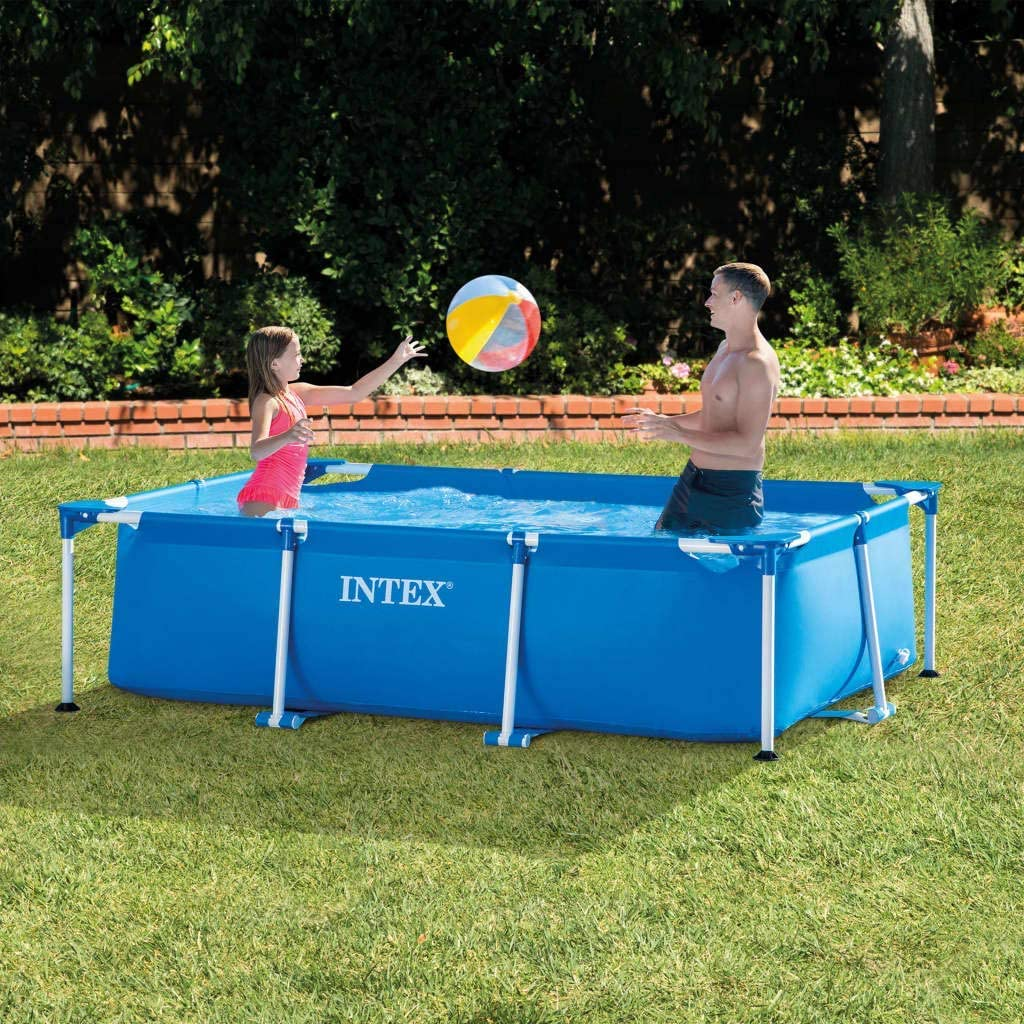 INTEX Piscina Familiar Metal Frame 300 m x 200 m x 75 cm: Amazon ...