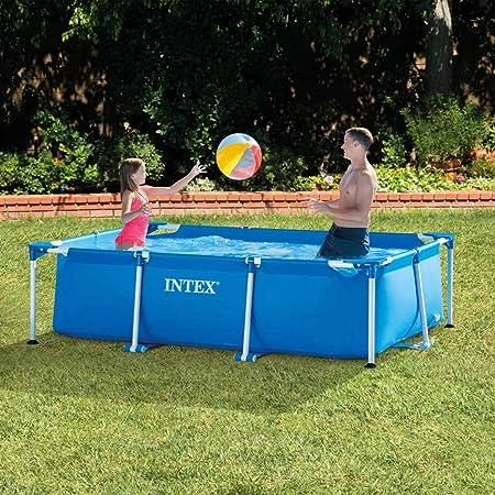 300 x 200 x 75 cm Intex Family Schwimmbecken blau