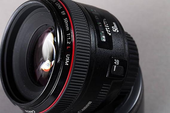 Canon EF 85mm f/1.2L II USM - Objetivo para Canon (Distancia Focal ...