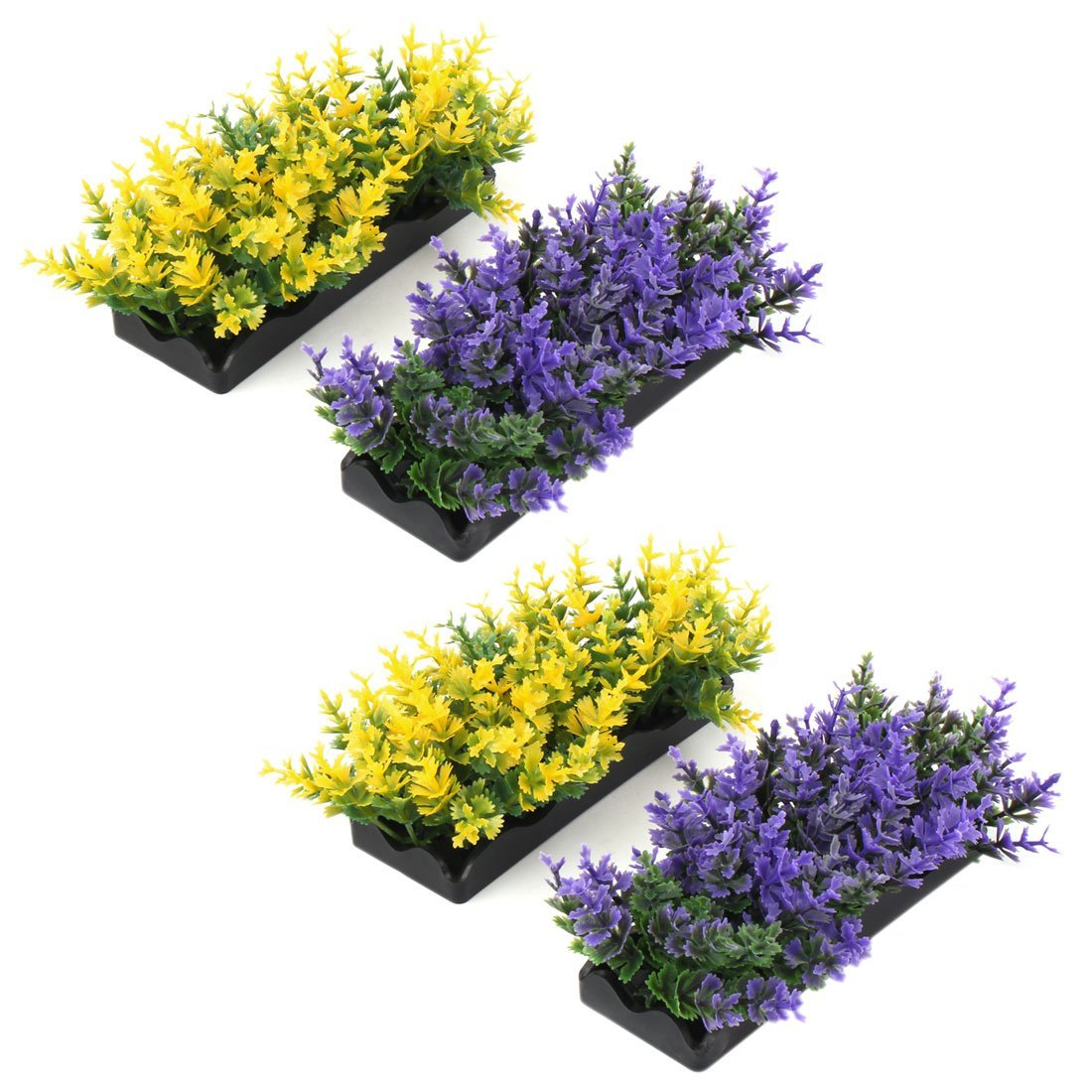 Fish Bowl Tank Landscape Artificial Water Plant Grass 5 Inch Height 10pcs